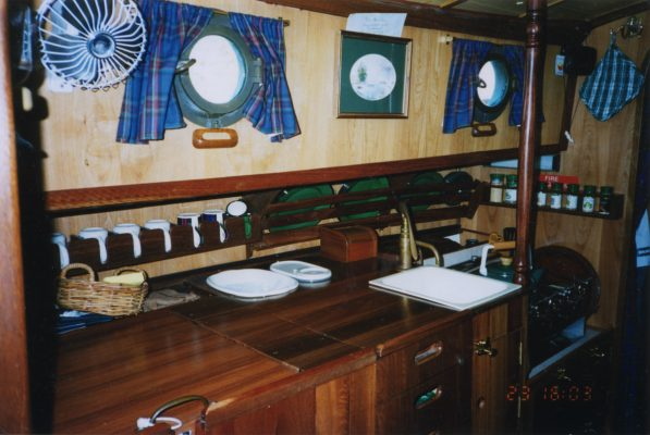 An Old Captivity galley