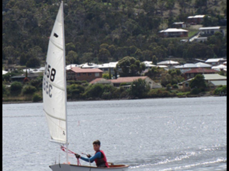 Henry sailing Skybird