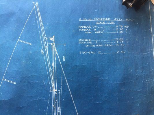 Sharpie sail details
