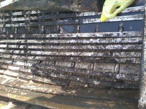 Plenty of slit to remove
