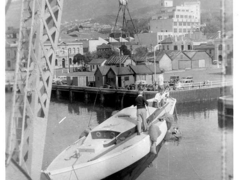 Maori Lass Launch 1950-2