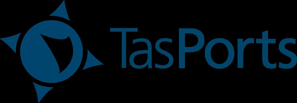 TasPorts logo - link to their site